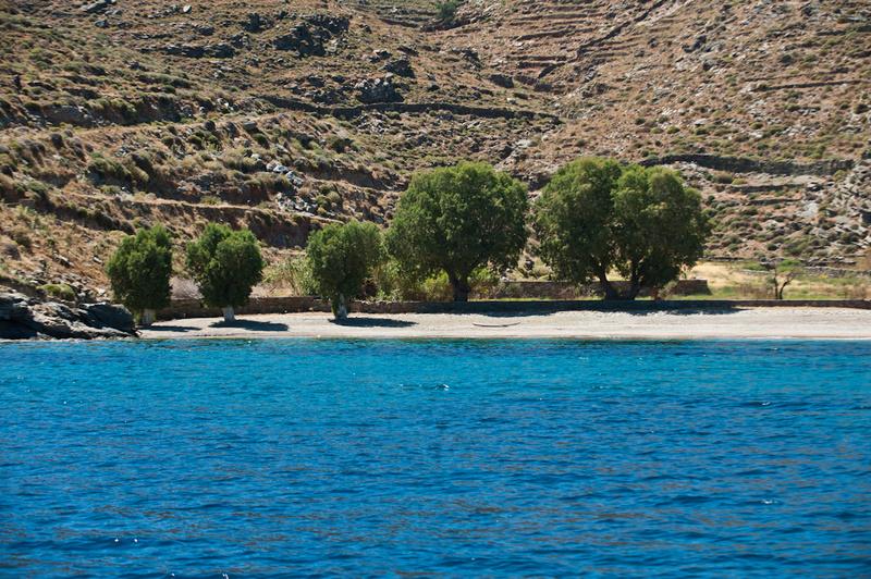 Europe, Greece, Cyclades, Kythnos, beach, Potamia