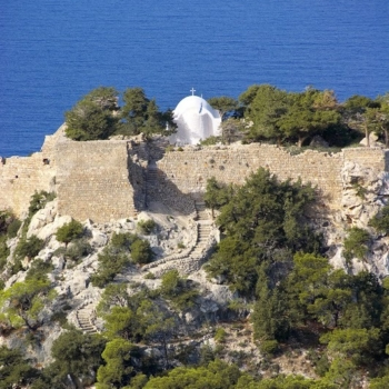 Rhodes - The castle of Monolithos