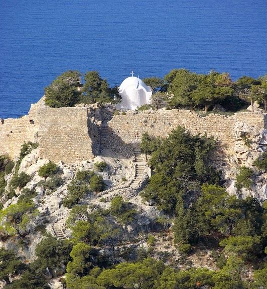 Rhodes - Κάστρο του Μονόλιθου