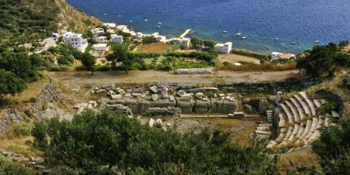 Milos - The ancient Roman theatre