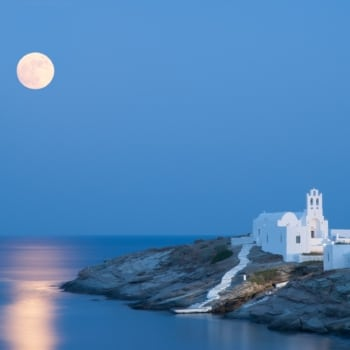 Church of Panagia Chryssopigi in Sifnos