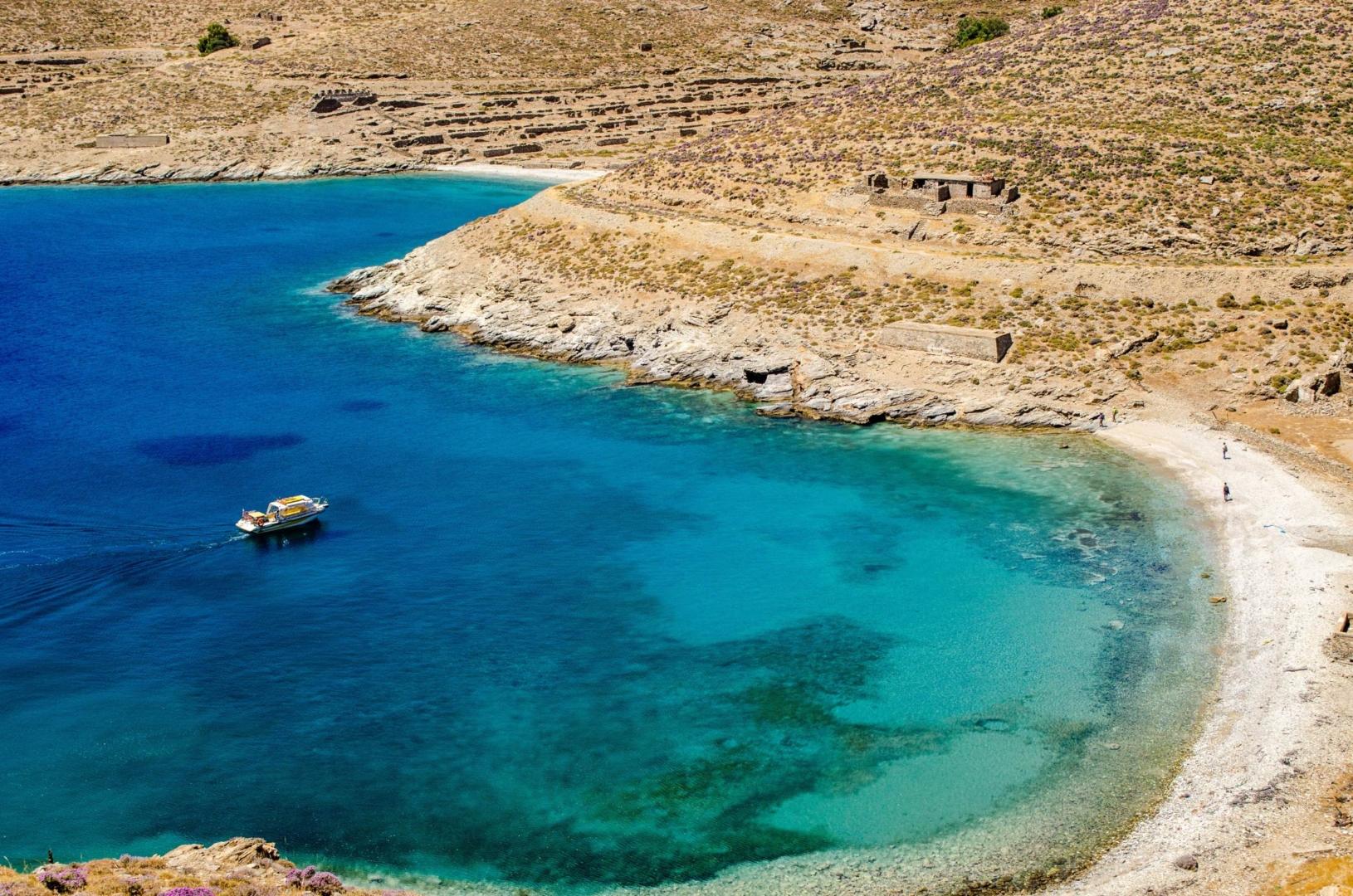 The island of Gyaros