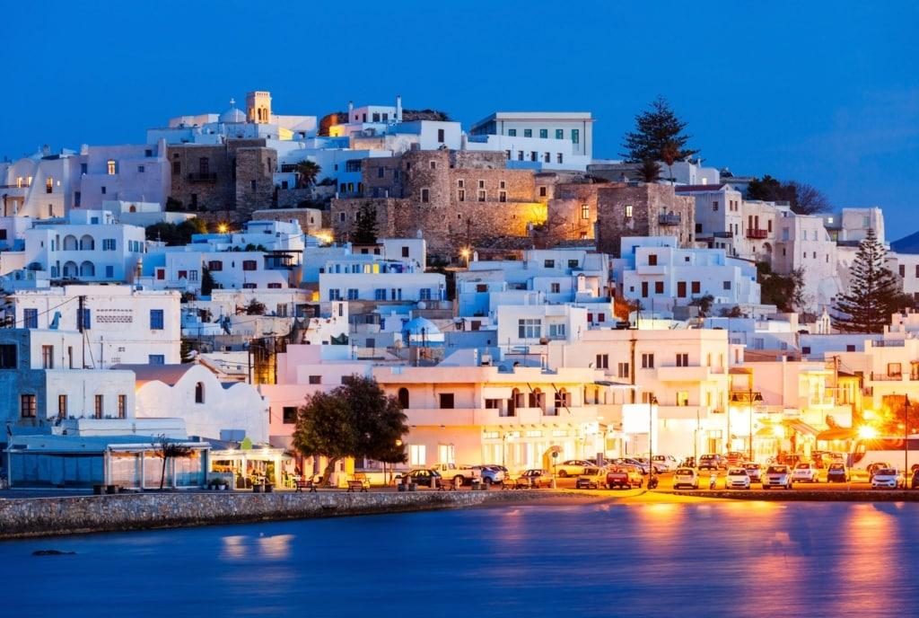 Naxos island. Cyclades.