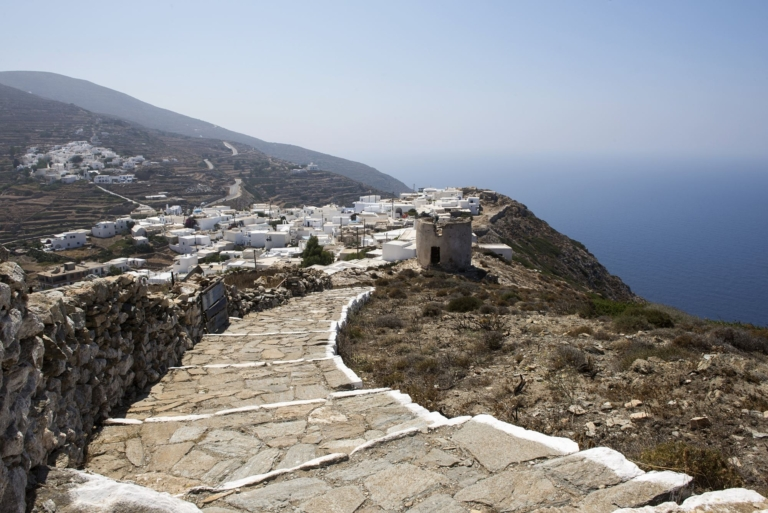 Old Chora, Sikinos island.