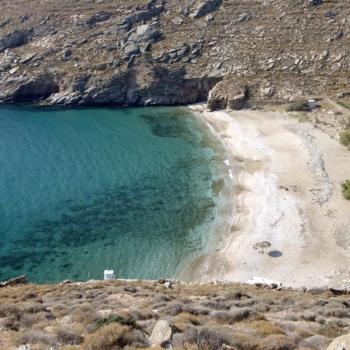Sykaminia beach.Kea island. Cyclades county. Greece. Europe.George Detsis. 09/2005.