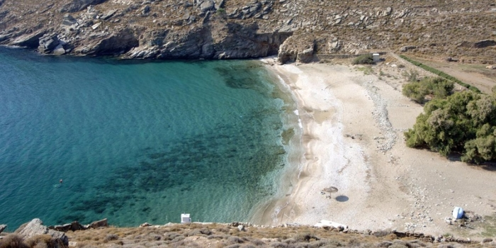 Sykaminia beach.