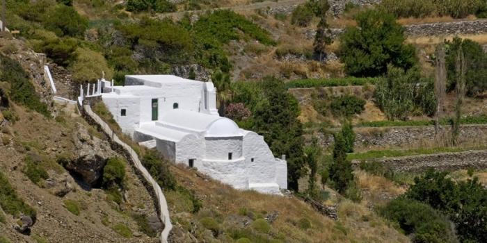 Amorgos - O Aϊ Γιώργης ο Βαρσαμίτης