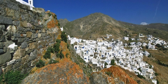 Serifos - The castle of Chora