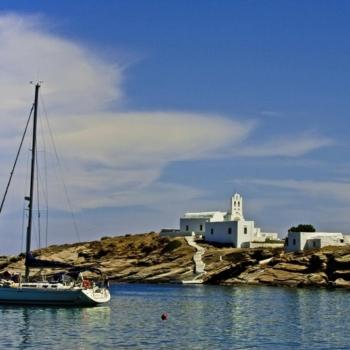 Sifnos - The rocks of Chrysopigi