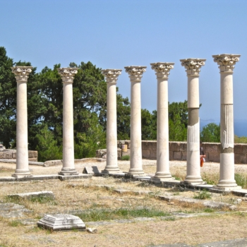 The sanctuary of Asclepios, Kos island.