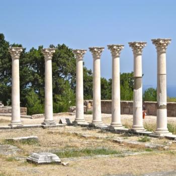 The sanctuary of Asclepios, Kos island.