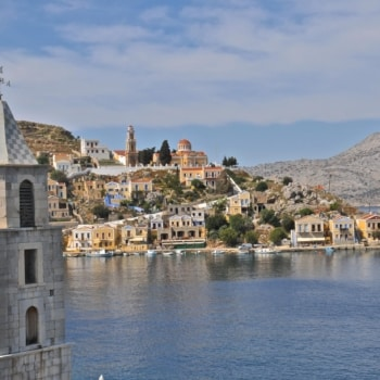 Port of Symi. Dodecanese