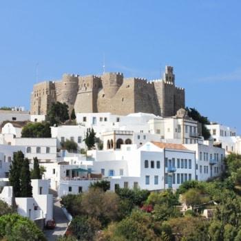 Monastery St Johh. Patmos island.