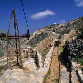 Emery mines.Naxos island. Cyclades. Greece.George Detsis. 03/2005.