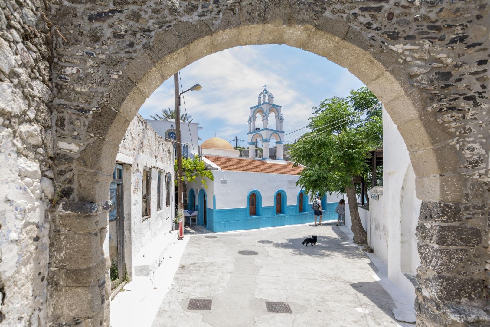 Emporios, Nisyros island.
