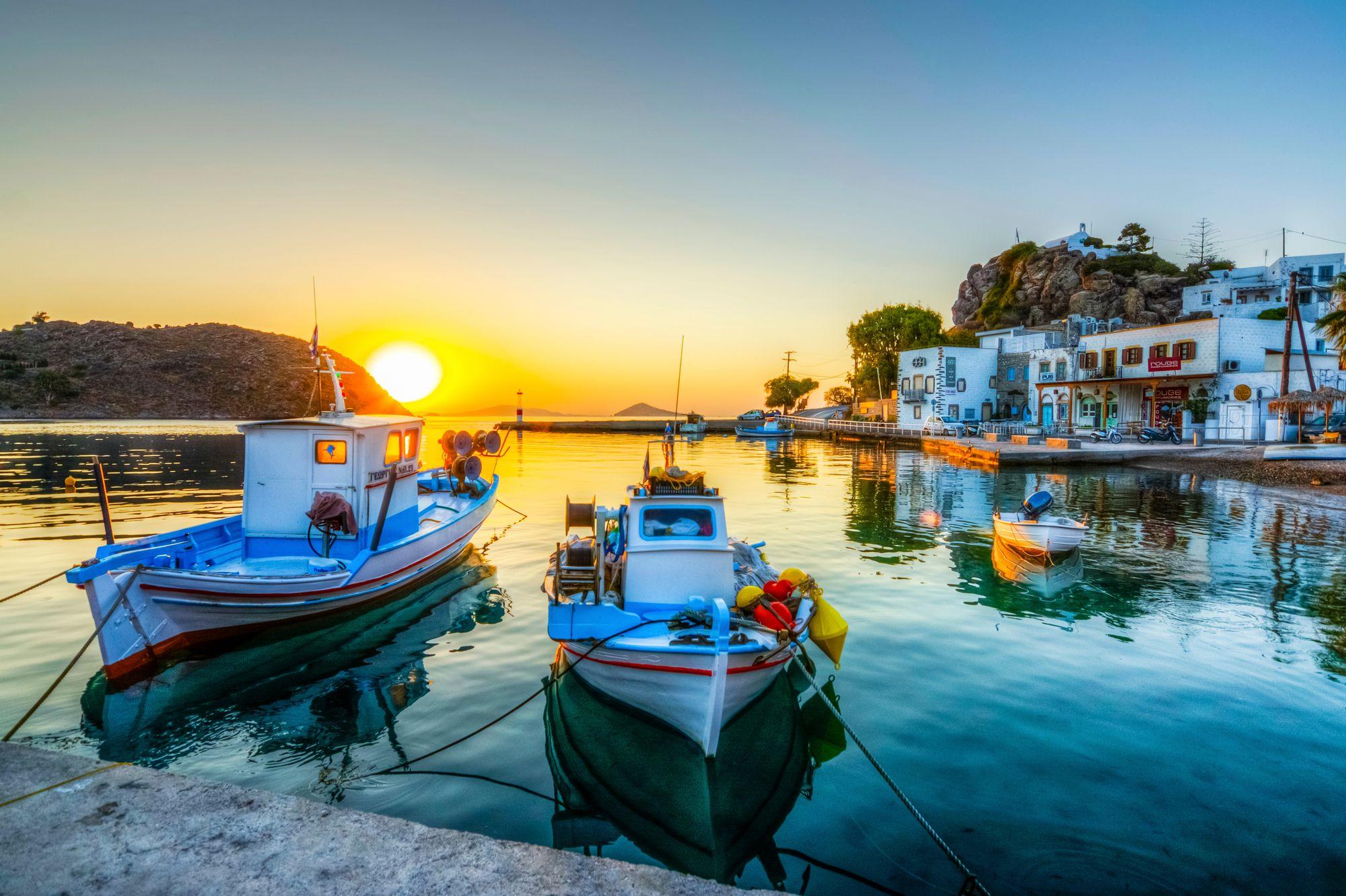 Patmos island. Dodecanese