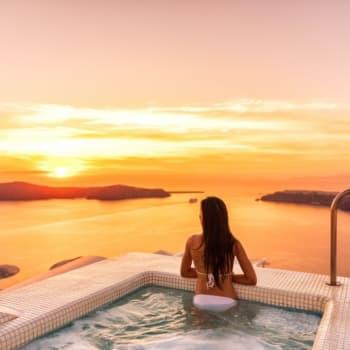 Honeymoon in Santorini