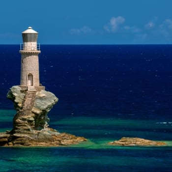 Lighthouse, Andros island