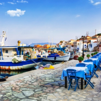 Chalki island, Greece