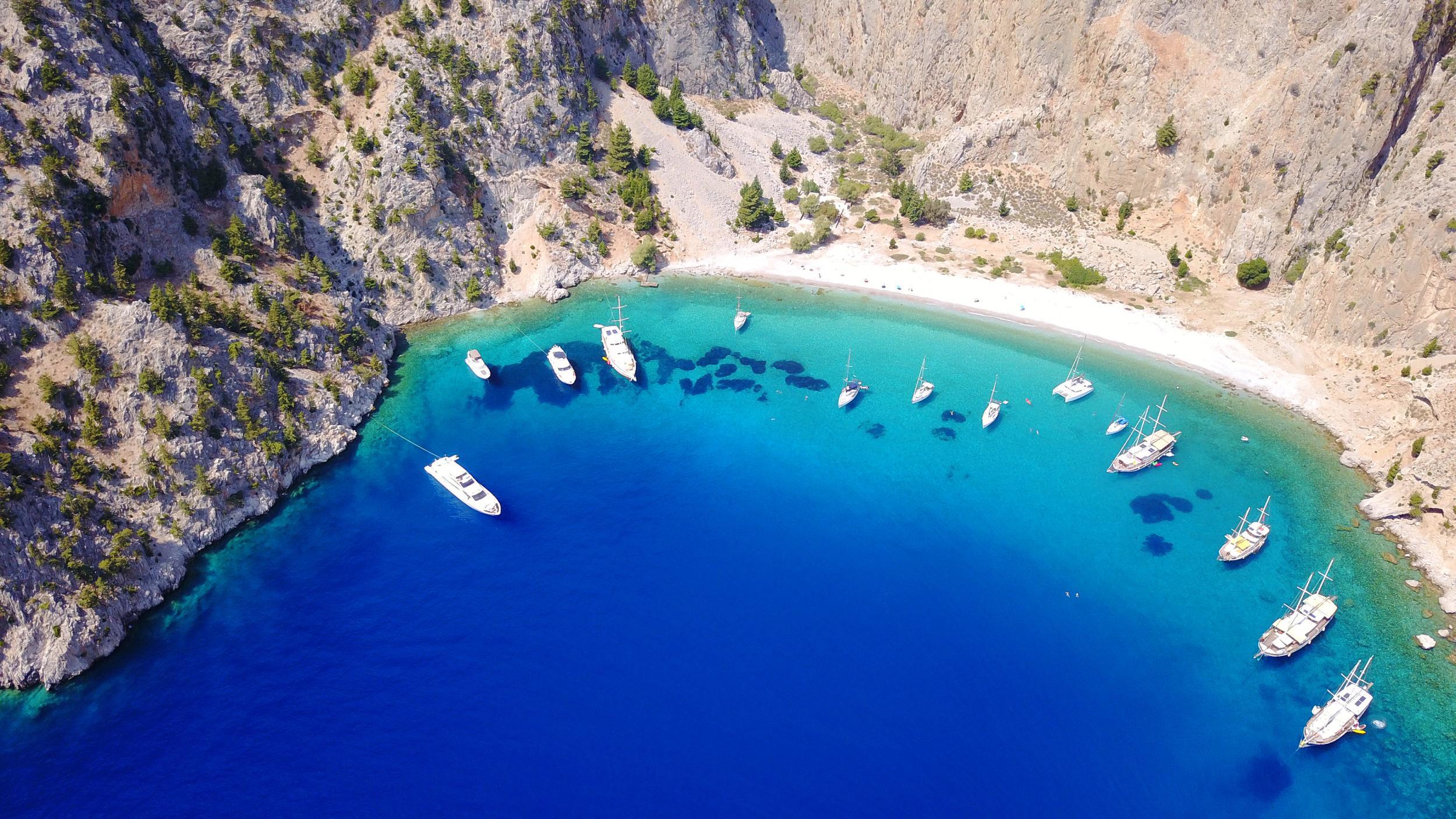 Symi island, Dodecanese.