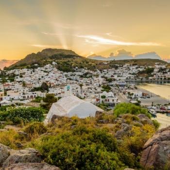 Patmos. Dodecanese islands.